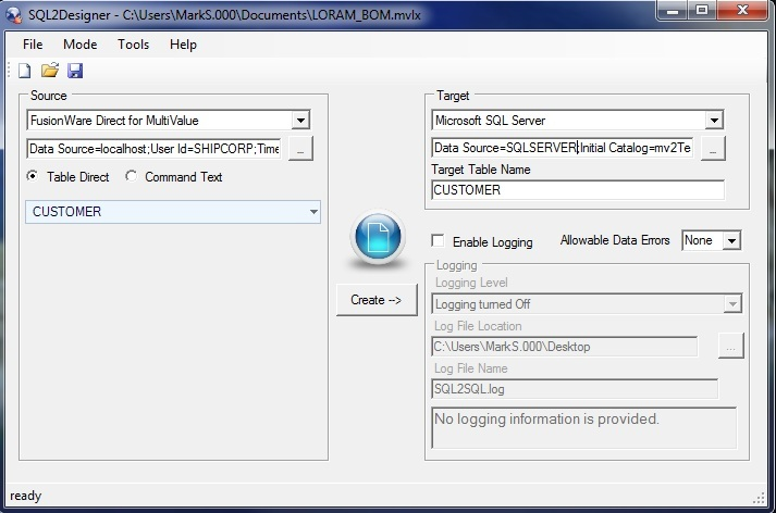 FusionWare dbLynx 2SQL Interface